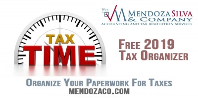 2019 Tax Organizer - Maximize Your Deductions